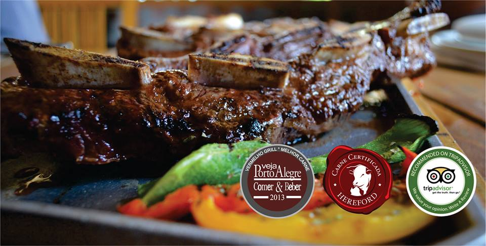 carne vermelho grill