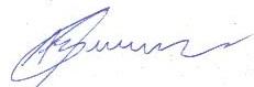 Assinatura Alfredo