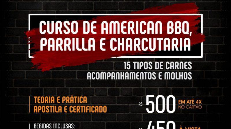 Goiânia recebe 3ª edição do Curso de American BBQ, Parrilla e Charcutaria dia 17 de março