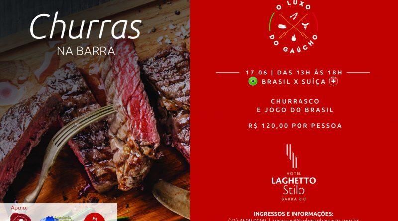 Churras na Barra com muita Carne Hereford para a estreia do Brasil na Copa