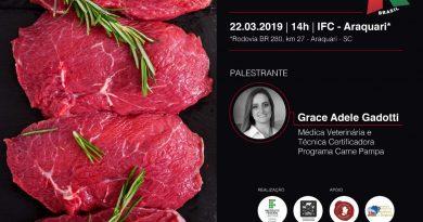 ABHB realiza palestra sobre o Programa Carne Pampa em Araquari (SC)